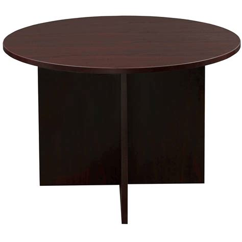 48 inch table everyday 48 inch laminate meeting table mahogany national office interiors and liquidators