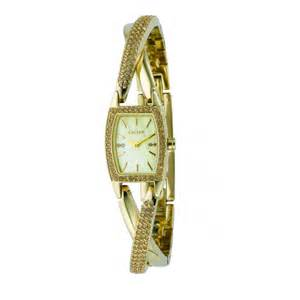Dkny dkny ladies crossover twist gold bracelet watch dkny from