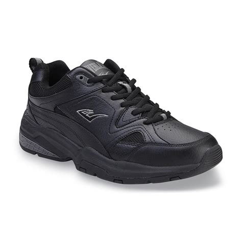 black athletic shoes for everlast 174 s jefferson wide walking athletic shoe