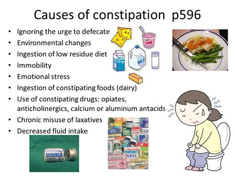 Causes Of Stool And Constipation by Laxatives And Antidiarrheals Ppt