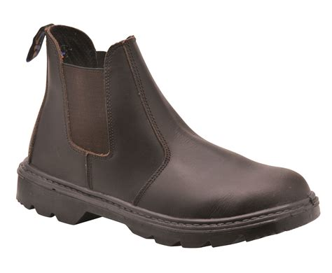 steelite dealer safety work boots shoes slip on steel toe