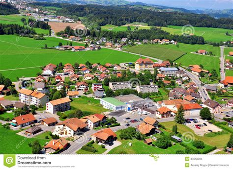 French House Plans by Swiss Village Stock Images Image 34958094