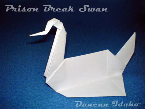Prison Duck Origami - prison swan by xduncanidahox on deviantart