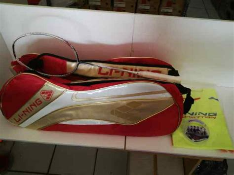 Raket Badminton Lining G 350 Ii Putih Dan Hitam jual perlengkapan olahraga bulutangkis badminton