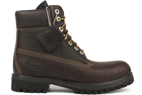 mens brown timberland boots timberland 6 inch premium 6765r new mens brown winter