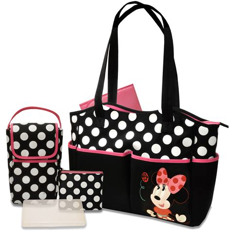 minnie mouse 5 in 1 bag set disney baby