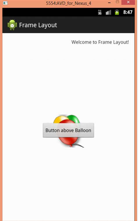 android frame layout hide view article 4 android ui layout and controls codeproject