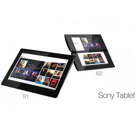 Tablet Sony S2 sony reveals two playstation tablets the s1 and s2