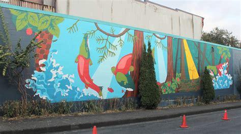 video resilience nest community mural  spacing