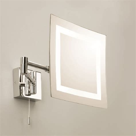 Bathroom Lighting Centre Astro Torino 0355 Illuminated Magnified Moveable Mirror Bathroom Lighting Centre