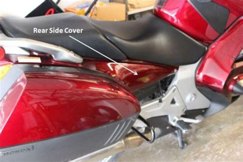 st1300 seat removal lower fuel tank replacement st1300
