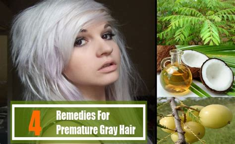 Natural Remedies For Premature Gray Hair Beauty | natural remedies for premature gray hair beauty 4 home