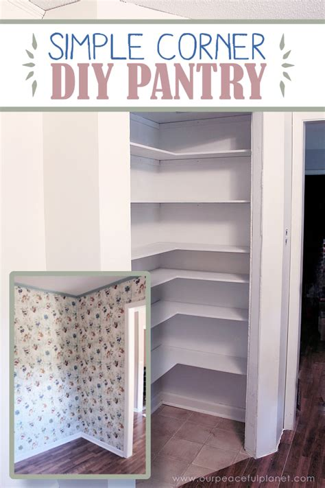 add space convenience   simple diy pantry