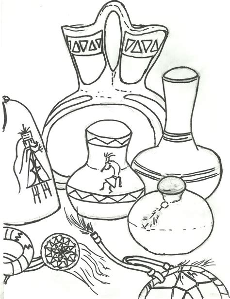 still life coloring sheets coloring pages