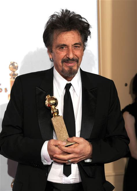 al pacino best performance al pacino pictures 68th annual golden globe awards