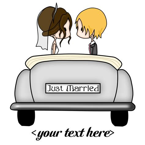 Wedding Car Logo by Just Married Car Png Clipart Free Images In Png