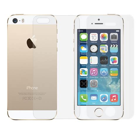 Tempered Glass For Iphone Iphone 44s56 Front Back front back iphone 5 5s genuine tempered glass