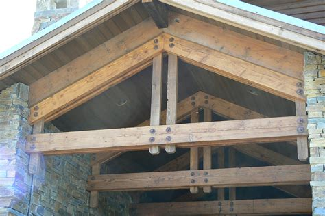 large timber trusses reclaimed timber trusses big timberworks bozeman mt
