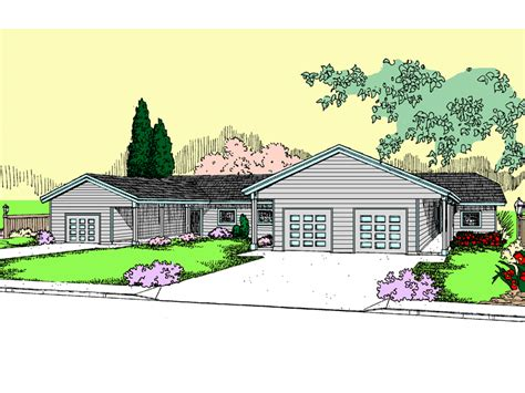 multi family house plans triplex landsberg triplex multi family plan 085d 0843 house