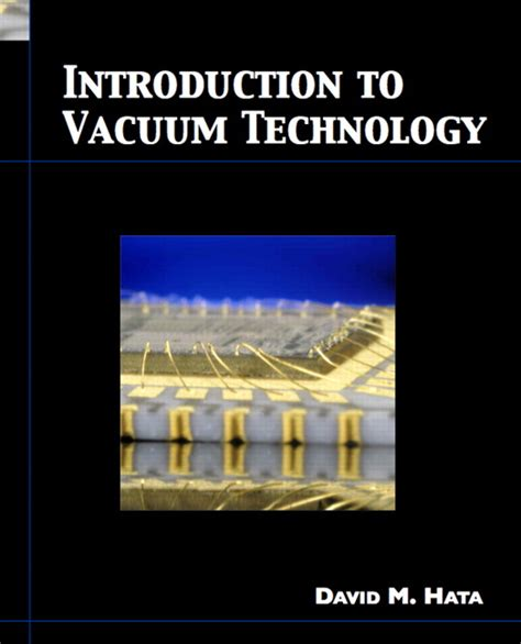 Hata Introduction To Vacuum Technology Pearson