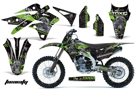 motocross bike stickers 2013 2015 kx250f graphics kit kawasaki motocross graphic