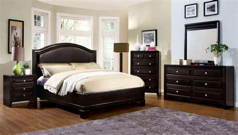 winsor espresso platform bedroom set from furniture of