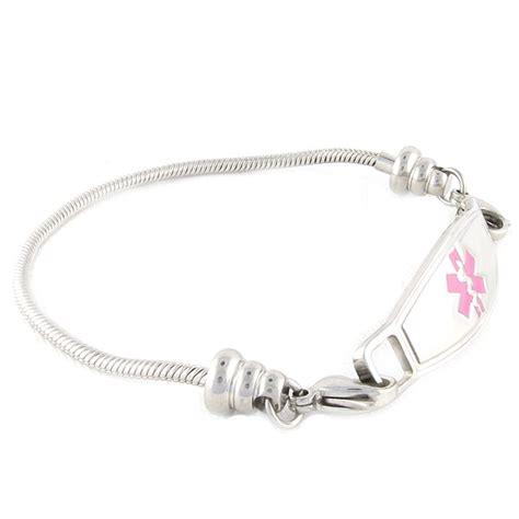 Pan dorra Medical ID Bracelets   N Style ID