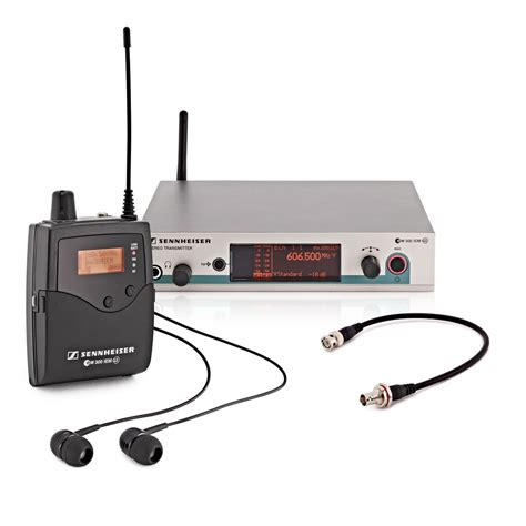 Ear Monitor sennheiser ew 300 iem g3 e wireless in ear monitor system at gear4music