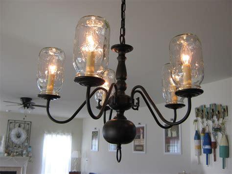 Make Light Fixtures How To Create Jar Lighting Fixtures Homesfeed