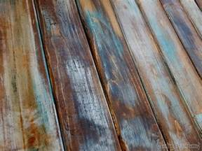 Contact Paper Desk Makeover make new wood look like old distressed barn boards