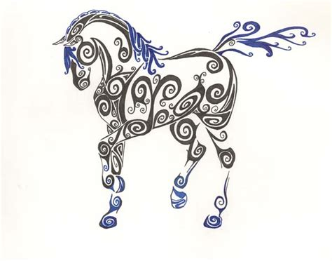 celtic horse 2 by unionjack04 on deviantart