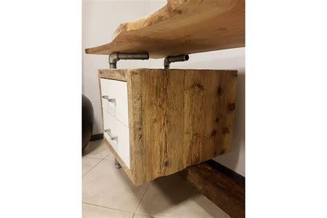 tubi mobili mobile bagno in legno di recupero e tubi in acciaio xt