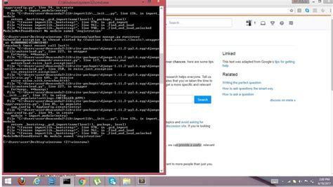 installing bootstrap on windows error loading bootstrap3 from windows 8 1 in django