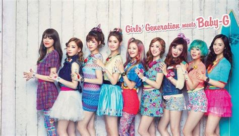 baby baby snsd casio baby g new collaboration models featuring k pop