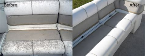 Cleaning Marine Vinyl Upholstery by Boat And Yacht Seat Repair And Restoration Fibrenew Nw