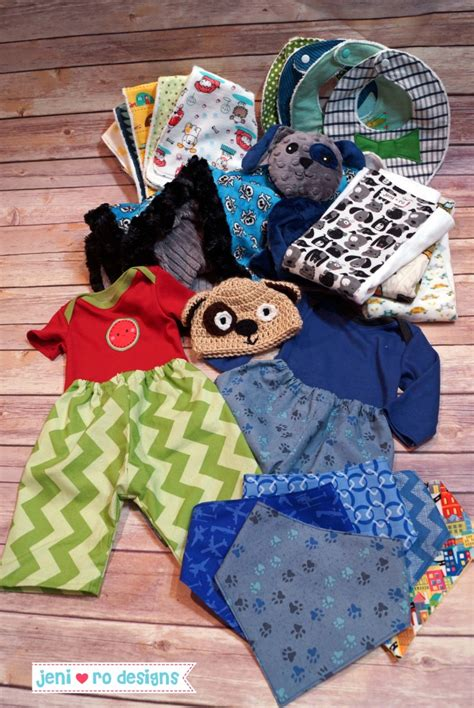 Handmade Baby Goods - baby gift with lots of handmade