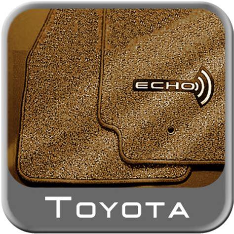 Toyota Echo Floor Mats 2003 2005 toyota echo carpeted floor mats beige