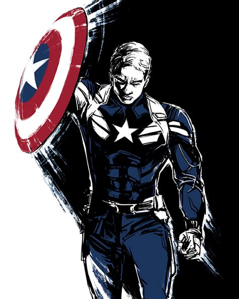 captain america wallpaper deviantart captain america by beanclam on deviantart