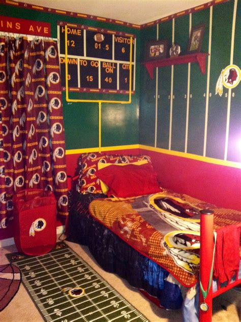 Redskins Bedroom Curtains Redskins Bedroom Joey S Board Bedrooms