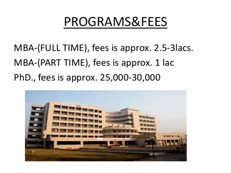 Of Arkansas Mba Cost by Department Of Management Studies Iit Delhi