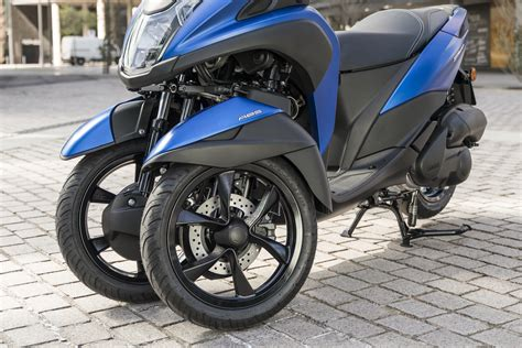 yamaha tricity  announced  europe motorcycle
