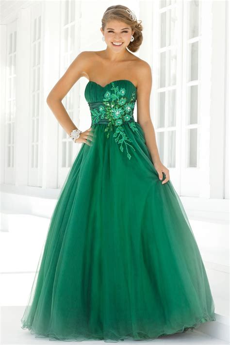 green cocktail green long prom dresses evening wear