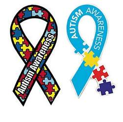 autism awareness colors 2 autism awareness car magnet ribbon puzzle multi