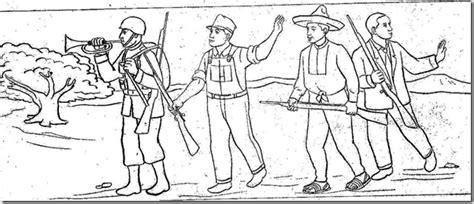 imagenes para colorear batalla de la victoria pinto dibujos dibujos para colorear del 5 de mayo batalla