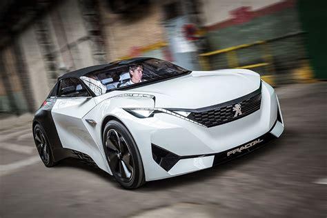 peugeot fractal peugeot fractal futuristic electric car concept