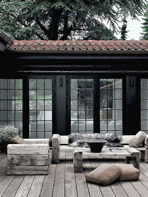 Gartenmöbel Rustikal
