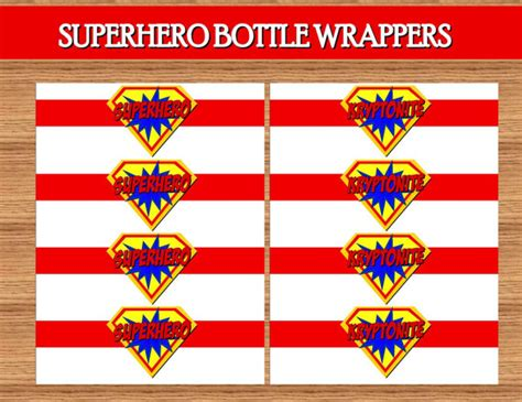 printable superman party decorations 6 best images of superman birthday party printables