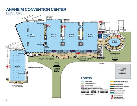 anaheim convention center floor plan california ffa state convention