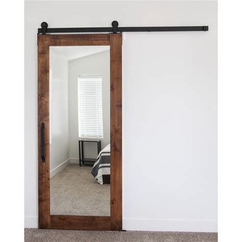 Mirrored Barn Door 1000 Ideas About Mirrored Closet Doors On Closet Doors Closet Door Makeover And