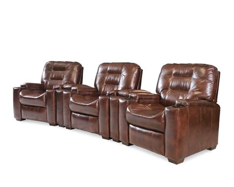 leather media recliners latham media recliner with cup holder manual leather